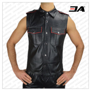 Dominion Leather Shirt