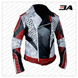 Carlos Cameron Descendants 2 Leather Jacket - 3A MOTO LEATHER
