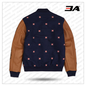 Kingdom Varsity Jacket - Navy