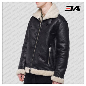 MEN CLASSIC B3 SHEARLING JACKET - 3A MOTO LEATHER