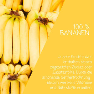 Bananenpulver - myfruits Shop