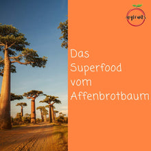 Laden Sie das Bild in den Galerie-Viewer, Bio Baobab Pulver - myfruits Shop