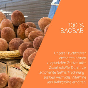 Bio Baobab Pulver - myfruits Shop