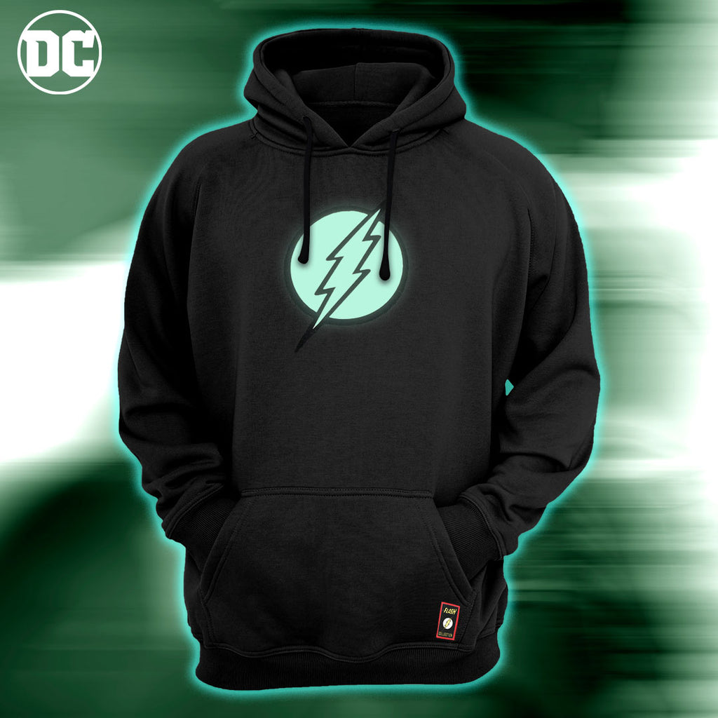 Sudadera Flash Logo Glow in the Dark - El Guante de Guslutt