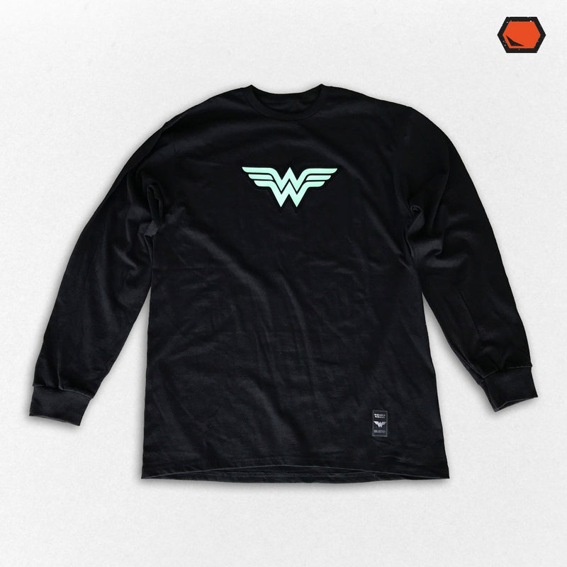 Playera Wonder Woman Glow in The Dark - El Guante de Guslutt
