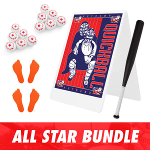 Official QuickBall Backyard Set - All Star Edition