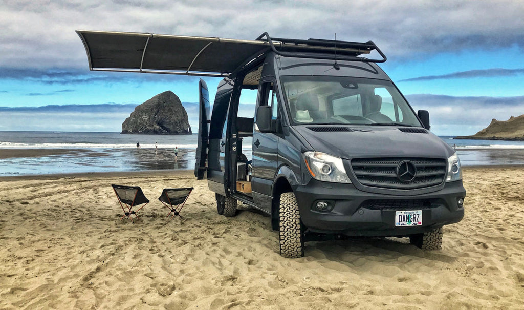 Awning Options For A Sprinter Transit Or Promaster Van Vancillary