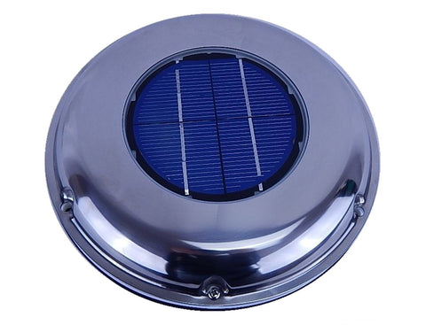 Autobox Solar-Powered Exhaust Roof Vent Front View