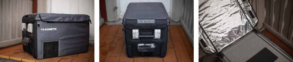 Dometic CFX 35 with insulated cover