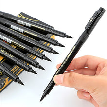 Load image into Gallery viewer, Calligraphy Black Ink Refill Lettering Pen