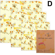 Load image into Gallery viewer, Three Pack Beeswax Wraps