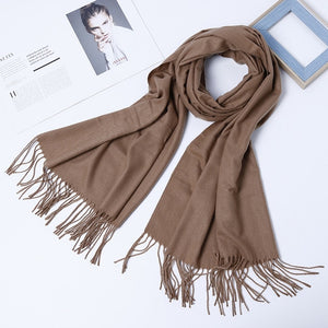 Luxury Wool Scarf - Unisex Pashmina