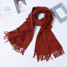 Load image into Gallery viewer, Luxury Wool Scarf - Unisex Pashmina