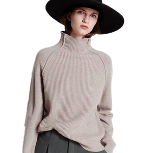 Knitted Cashmere Turtleneck Sweater