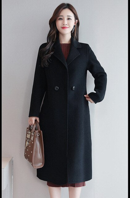 Cashmere & Wool Coat