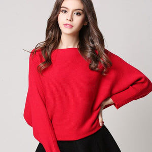 Bonjean Bat-Sleeved Cashmere Jumper