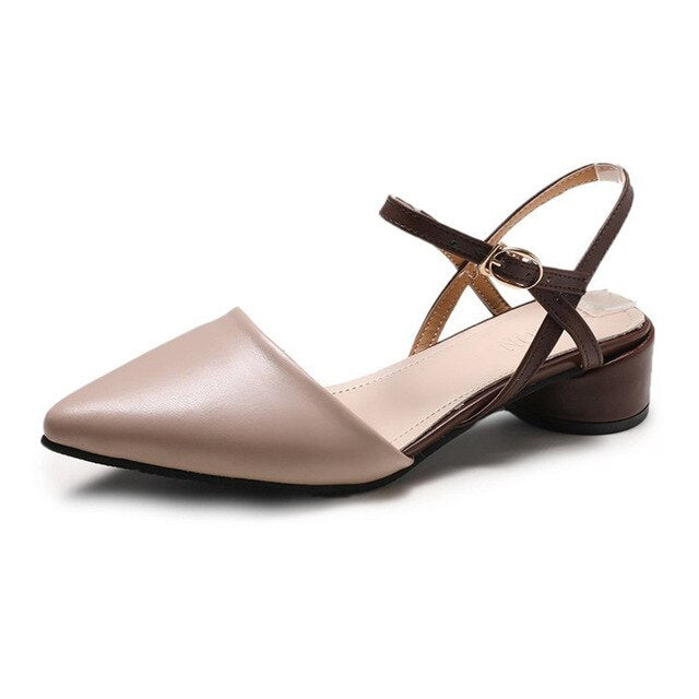 Pointed Heeled Sandal