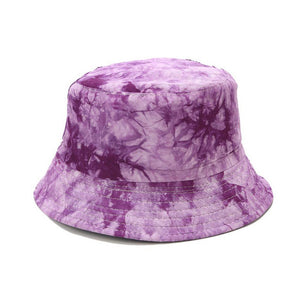 Double-Sided Tie-Dye Bucket Hat