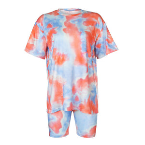 Two Piece Tie-Dye Set