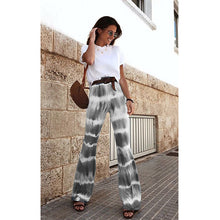 Load image into Gallery viewer, Tie-Dye Flared Pants