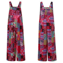 Load image into Gallery viewer, Boho Patchwork Romper