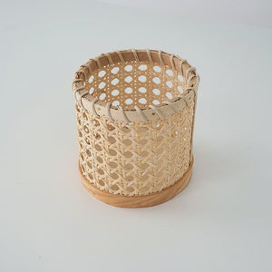 Handmade Rattan Eating Utensils