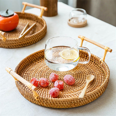 Rattan Woven Tray
