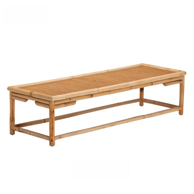 Tatami Tea Table - Bamboo & Rattan