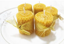 Load image into Gallery viewer, Organic Beeswax Candles
