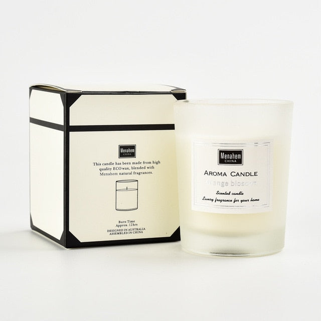 Pure Soy Wax Aromatherapy Candle