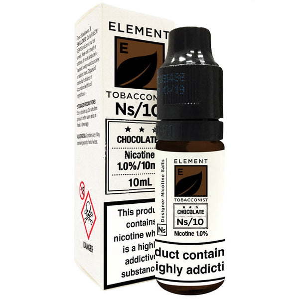 Element - Chocolate Tobacco (Nic Salt)