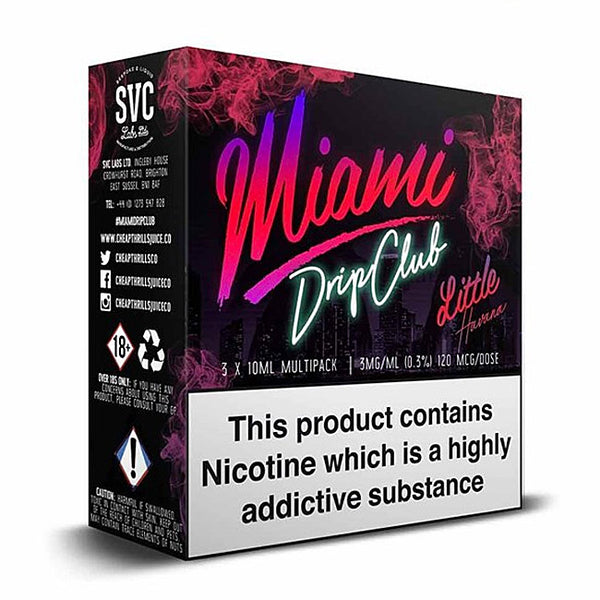 Miami Drip Club - Little Havana (3-Pack)