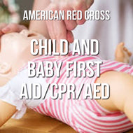 Child and Baby First Aid/CPR/AED Online