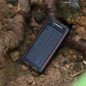 Batterie externe solaire Powerbank 15 000 mAh - Designed For Campers