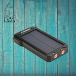 Charger l'image dans la galerie, Batterie externe solaire Powerbank 15 000 mAh - Designed For Campers