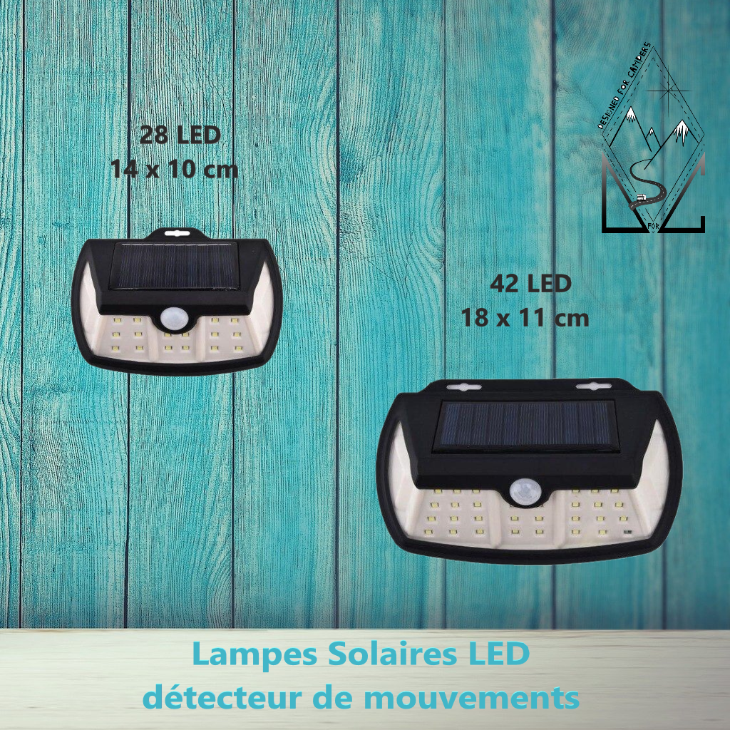 Lampe énergie solaire - Designed For Campers