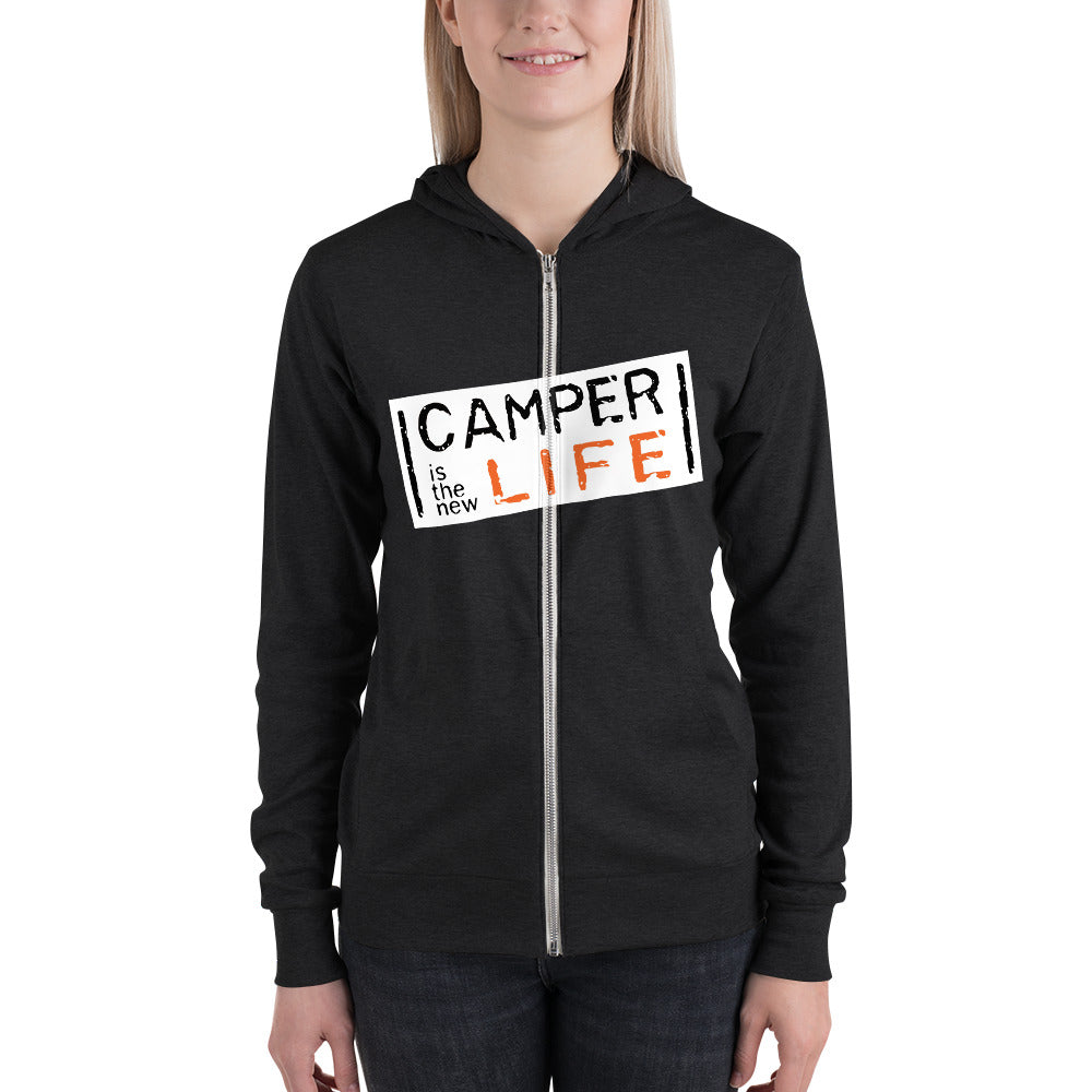 Veste à capuche Orange is the new black pour Campeur - Designed For Campers