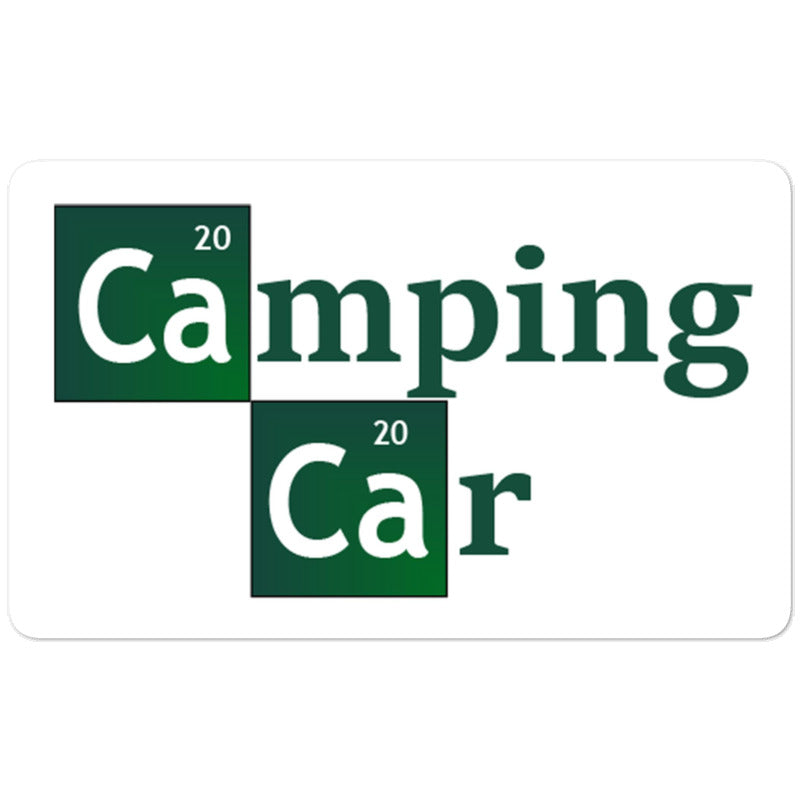 Autocollant Breaking bad - Camping car - Designed For Campers