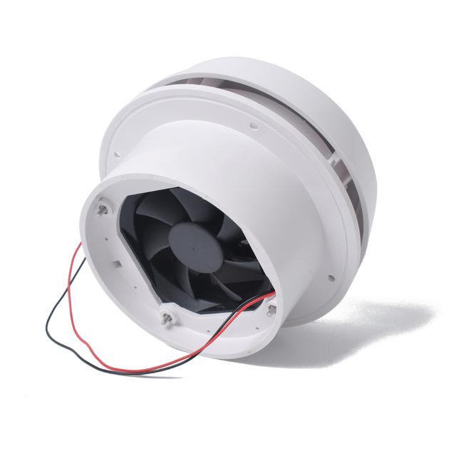 Ventilateur de Toit champignon silencieux 12 V - Designed For Campers