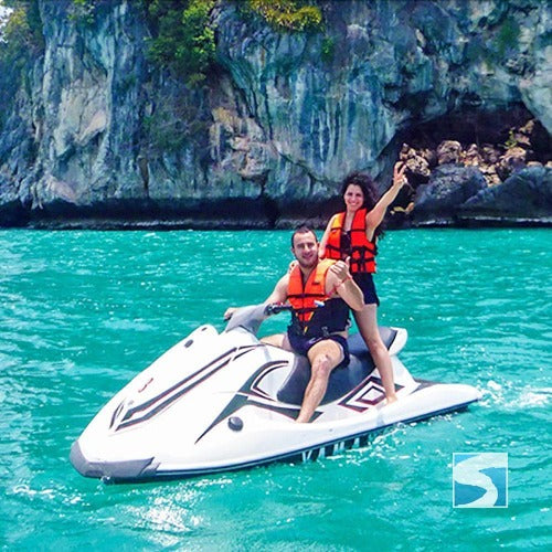 Jet Ski Adventure Safari 4 Hours Pax Included - kohsamui.tours