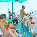 Deep Sea Fishing Traditionell Boat - Koh Samui Cruising Excursions - kohsamui.tours