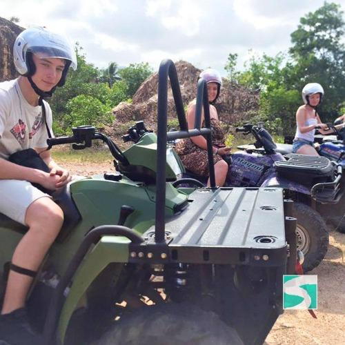 ATV Adventure Tour - Cruise Ship Tours Koh Samui - kohsamui.tours