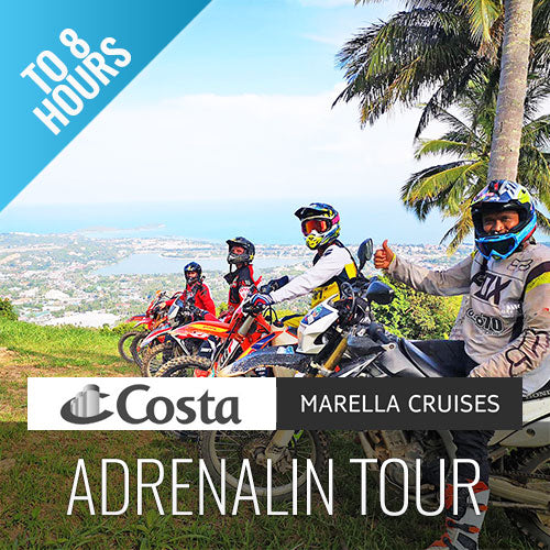 Enduro Tour Adrenalin - Activities of Cruising Koh Samui - kohsamuiausflug.de