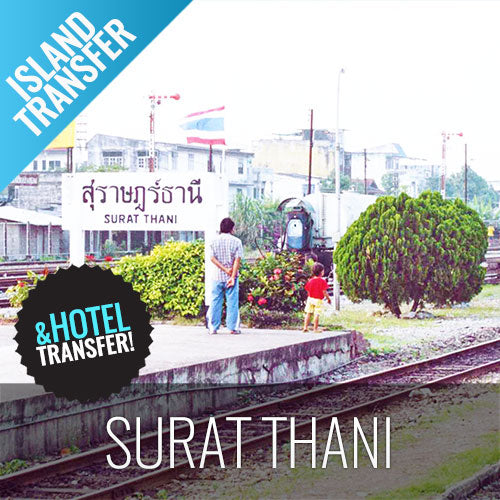 Koh Samui Transfer Surat Thani (Railway) by Ferry and Minibus - kohsamui.tours