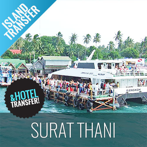Koh Samui Transfer Surat Thani (Tapee Port) by Ferry and Minibus - kohsamui.tours