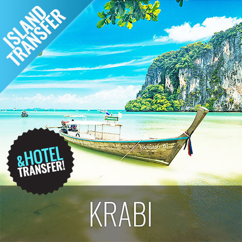 Koh Samui Transfer Krabi Island by Ferry and Minibus - kohsamui.tours