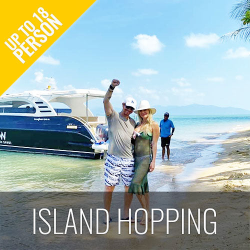 HALF DAY EXCURSION ISLAND HOPPING - THE BEST ISLANDS - kohsamui.tours