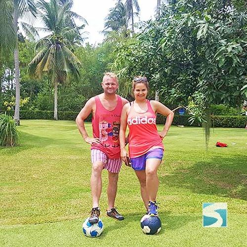 Creative Activity Football Golf - Koh Samui Activity From Cruise - kohsamui.tours