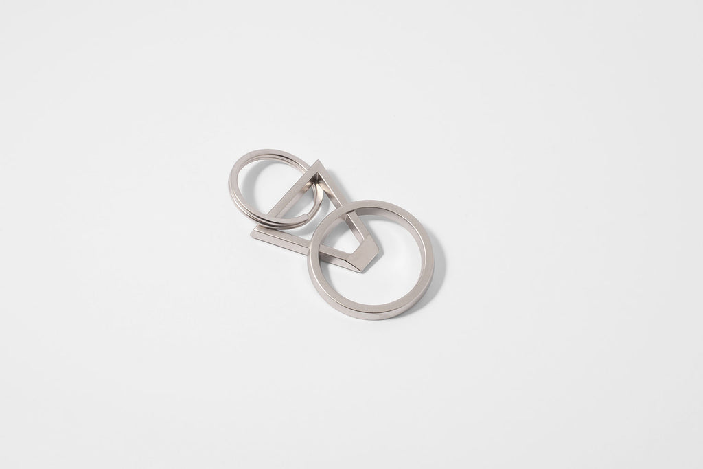 DYAD keyring bottle opener <br> <i>satin silver finish</i>