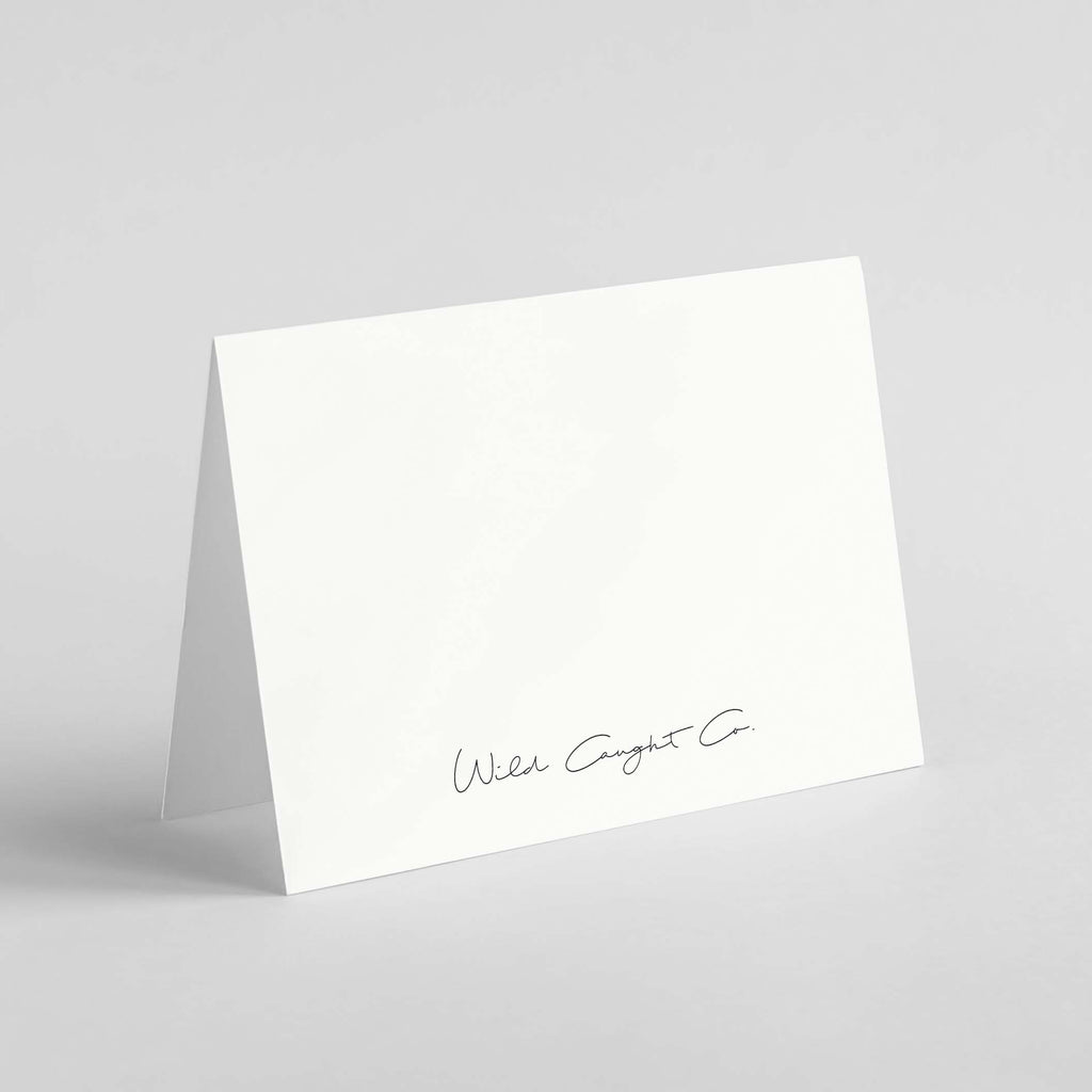 "Wild Caught Co. ""Almost There"" - Greeting Card"
